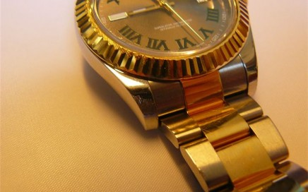 Rolex Datejust II polijsten