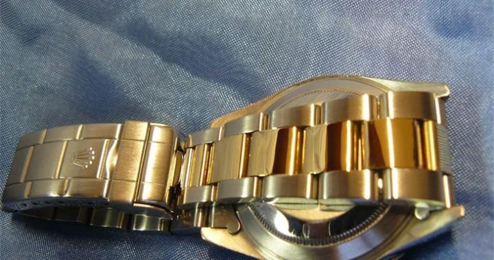 Rolex Submariner 16613 tritium polijsten