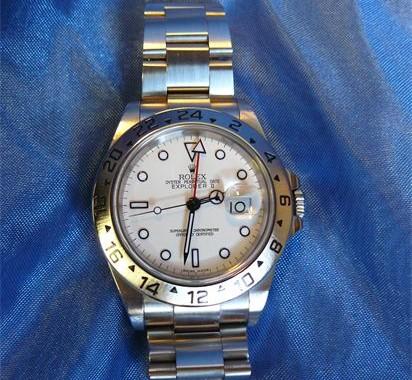 Rolex Explorer II polijsten