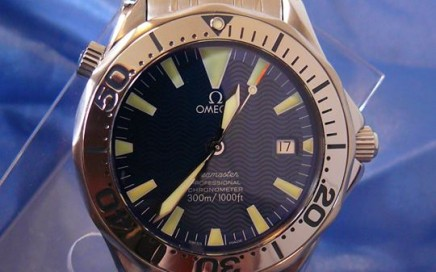 Omega Seamaster Professional Electric Blue Automatic 2055.80 polijsten