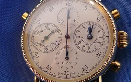 Chronoswiss Rattrapante Chronograph polijsten