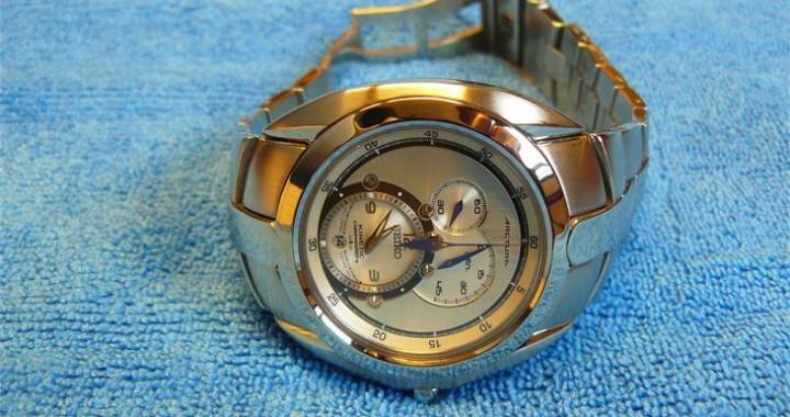 Seiko Arctura Kinetic Chronograph na polijsten