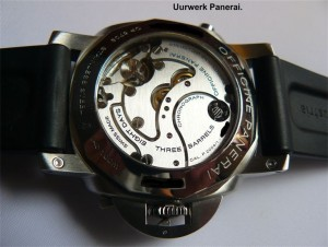Panerai Luminor GMT polijsten