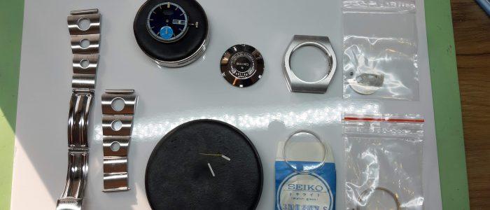 Seiko 6139-8020 onderdelen gepolijst