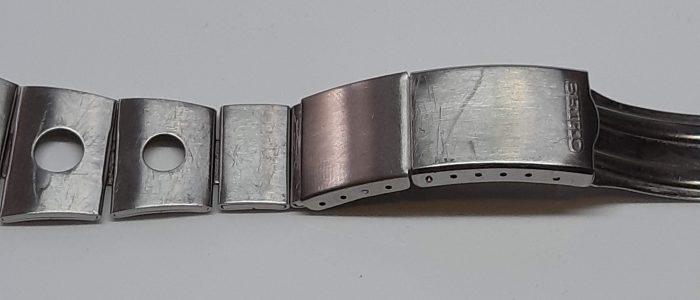 Seiko 6139-8020 band met krassen