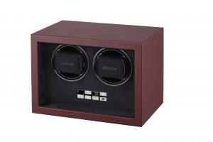 Schuin vooraanzicht Benson Compact 2.18 Dark Brown Leather