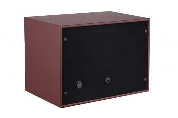 Achterkant Benson Compact 2.18 Dark Brown Leather