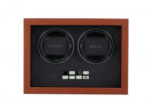 Vooraanzicht Benson Compact 2.18 Light Brown Leather